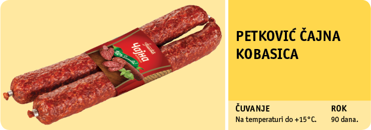 Petković čajna kobasica