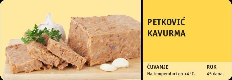 PETKOVIĆ KAVURMA